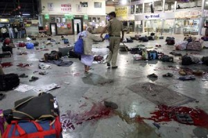 CST Railway station after attack