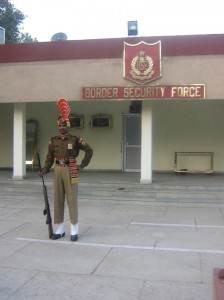 BSF office at Wagah