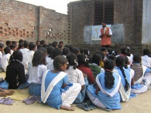 Josh teaching Kanjira