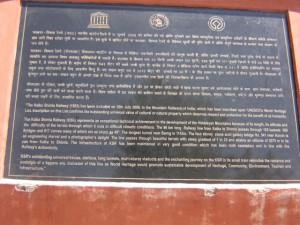 Kalka-Shimla railway track