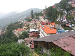 View of Shimla from the Hotel White