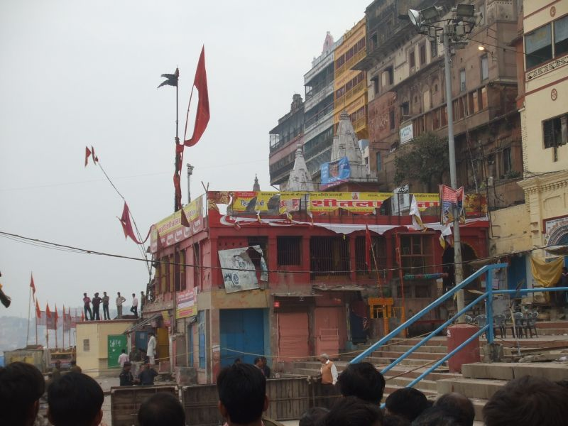 Sheeta temple near bomb blast place