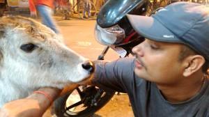 Baba with Rahul