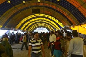 Inside a langar