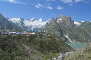 Sheshnag Base camp, Himalayas & Sheshnag lake