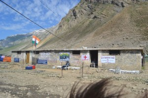 Indian Army medical camp for pilgrims