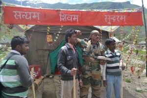 Indian Army temple